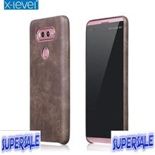 LG V20 Mobile Phone Protective Retro Thin Leather Case Casing Cover