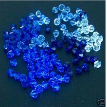 Blues Mix 100p 4mm 5301 Swarovski Bicones