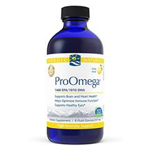 Nordic Naturals ProOmega Liquid, Lemon Flavor - 2840 mg Omega-3 - 8 oz - High