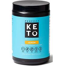 Perfect Keto Perform Pre Workout Powder - Burn Fat for Fuel Energy Supplement