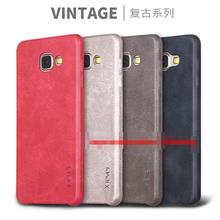 X-Level Samsung Galaxy A5 A7 2016 Vintage Leather Case Cover Casing