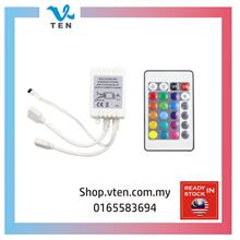 2 Output IR Remote Controller For 12V 2835 5050 RGB Led Strip Light