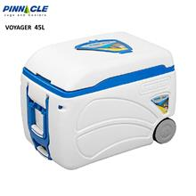 Pinnacle Voyager 45L White Ice Cooler with Roller