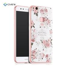 Huawei Nova P10 Lite 3D relief Case Casing cover + tempered Glass