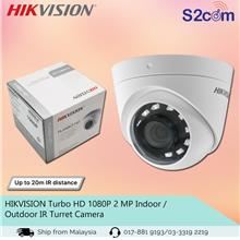 HIKVISION Turbo HD 1080P 2 MP Indoor / Outdoor IR Turret Camera
