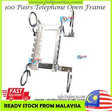 100 Pairs Open frame Telephone Krone 110 Indoor DB Distribution box 100pair Te