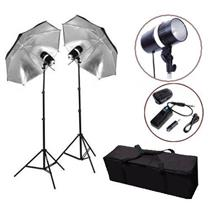 L-Lite Complete Studio Flash Strobe Monolight Kit (160WS-2KIT)