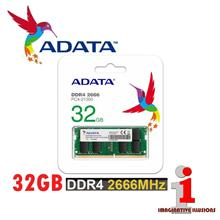 ADATA 32GB DDR4-2666 1.2V 260-Pin SODIMM RAM (Single Stick)