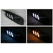 Honda Civic FC 16- Light Bar Fog Lamp Cover