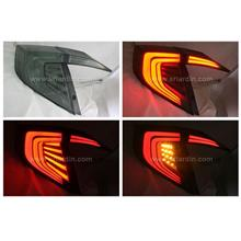Honda Civic FC 16- Smoke Light Bar LED Tail Lamp