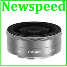 New Canon EF-M 22mm f/2 STM Lens (Import)- Limited