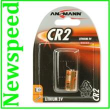 New Ansmann CR2 3V Alkaline Lithium Battery (2pc)