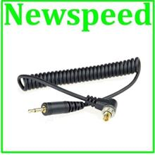 PC Sync to 2.5mm Cable with Screw Lock Speedlight Sync Cable