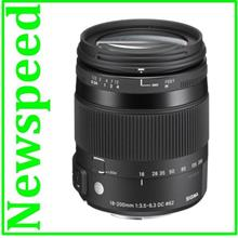 Canon Mount Sigma 18-200mm F3.5-6.3 DC Macro OS HSM Contemporary Lens
