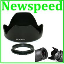 Flower Shape Reverse Lens Hood for DSLR Digital Camera Lens