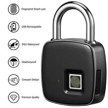 Waterproof Anti-theft Fingerprint ID Smart Padlock (WP-65PL).