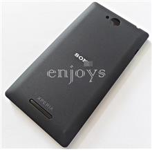 NEW HOUSING Battery Back Cover Sony Xperia C /C2305 S39h ~BLACK