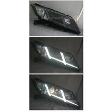 Honda City 14-17 Projector Headlamp w Light Bar