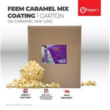 FEEM Caramel Mix Popcorn Coating 1 CARTON Karamel Campuran 1 CARTON