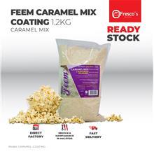 FEEM Caramel Mix Popcorn Coating 1.2kg Karamel Campuran