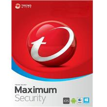 Trend Micro Maximum Security 2021 - 1 Year 3 Devices Windows Mac