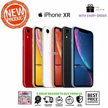 Apple iPhone XR 64gb 128gb 256gb NEW SEALED BOX 1YEAR WRTY BY SHOP