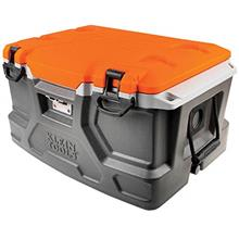 Klein Tools 55650 Lunch Box / Cooler, 48 Qt Insulated Cooler, Holds 72 Cans, K