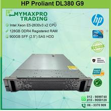 HP ProLiant DL380 G9 Rack Server E5-2630v3 2CPU 128G RAM 900GB SAS HDD