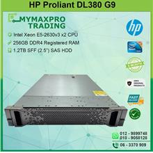 HP ProLiant DL380 G9 Rack Server E5-2630v3 2CPU 256G RAM 1.2TB SAS HDD