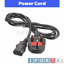 1.8m UK 3 Pin Power Cord Cable 13A Fuse Desktop Computer Monitor