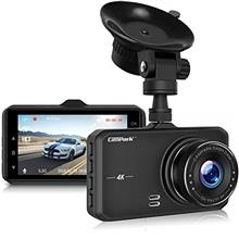 Campark Dash Cam 4K UHD DVR Dashboard Car Cameras with 170°Wide Angle Night V