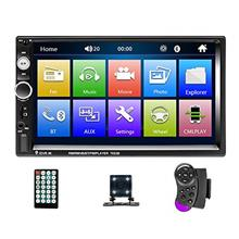 Mosufit Double Din Car Stereo Car Audio with Bluetooth FM Radio Receiver, 7 &q