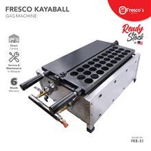 Fresco Kaya Ball Machine Gas Kayaball