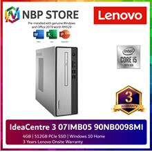 Lenovo IdeaCentre 3 07IMB05 90NB0098MI Desktop PC