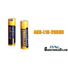 Fenix 18650 3.6V 2600mAh Micro-USB Li-ion Rechargeable Battery (ARB-L1
