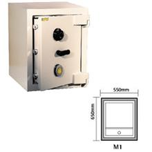 LION Commercial Safe M1 wth Top Slot Hole 550(W)x600(D)x650(H)mm 380kg