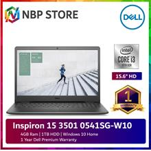 Dell Inspiron 15 3501 0541SG-W10 15.6'' Laptop Black