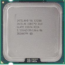 Intel Core 2 Duo E7200 Processor 2.53GHz 3M 1066MHz FSB LGA775