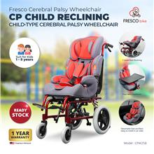 Cerebral Palsy Child Wheelchair Reclining with Detach Seat for Car
