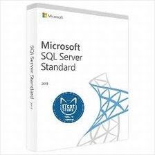 GENUINE AND NEW MICROSOFT 2019 SQL SERVER STANDARD EDITION (228-11548)