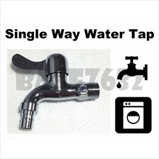 Wall Mounted Brass Single Way Water Tap Faucet Utility Laundry 1641.1