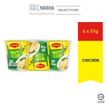 MAGGI Hot Cup Chicken 6 Cups 58g ExpDate: May 2021)