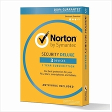 Norton Security Deluxe 2021 - 3 Year 3 Devices Windows Mac Android IOS