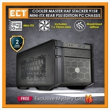 Cooler Master HAF Stacker 915R Mini-ITX Rear PSU Edition Desktop PC Ca