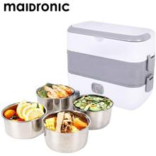 Maidronic Portable Electric Heating Lunch Box)