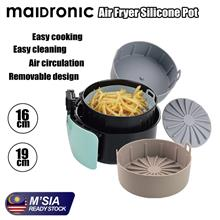 Maidronic Air Fryer Silicone Basket FDA Approved Oven Silicon Basket