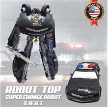 S.W.A.T Robot Toy Changeable Form Transformer With Sound And Light