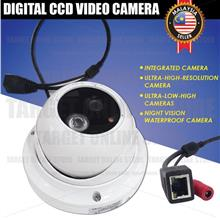 CCTV Digital CCD Video Camera Safety Security Network Interface Wired