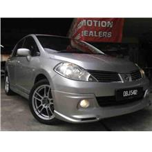 Nissan Latio Sedan Oem Bodykit Skirting With Oem Paint
