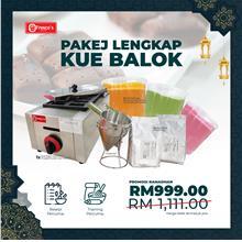 Kue Balok Single Machine Package